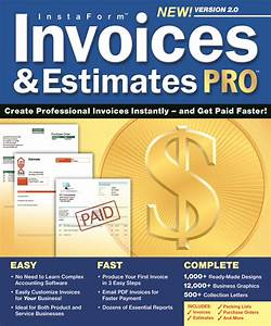 instaformtm invoices estimates pro 20 for windows With invoices and estimates pro 2 0