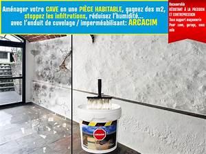 Etancheite Mur Exterieur Sous Sol : enduit de cuvelage arcacim arcane industries ~ Melissatoandfro.com Idées de Décoration