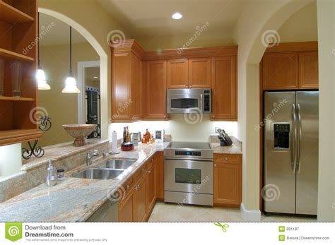 basement kitchen stock image image of refrigerate sink
