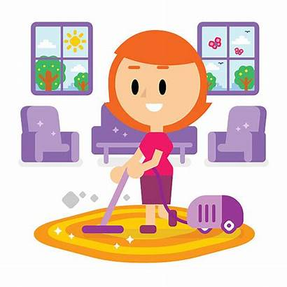 Cleaning Dirty Living Mom Clipart Spring Clip