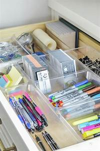 Organized and Functional Office Supply Drawers | Office ...