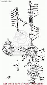 Yamaha R5 1970-1972 Carburetor