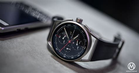 porsche design hands on porsche design 1919 chronotimer baselworld