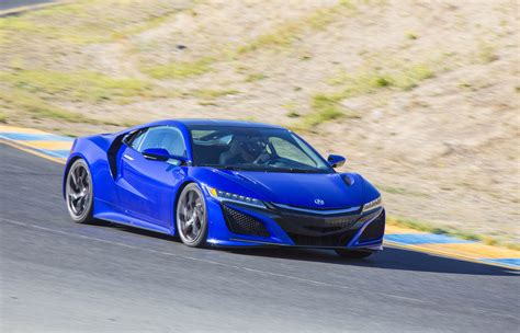 acura nsx coming   hp   mph time