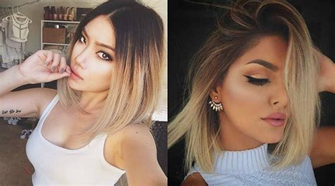 Hair Vs Light Hair Yahoo by Balayage Vs Ombre Hair Difference Between The Hair Color