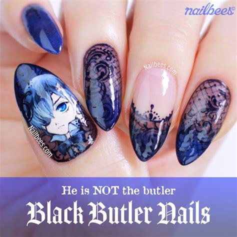 black butler nail art nailbees
