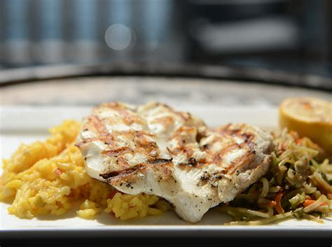 menu grouper shack seafood entree
