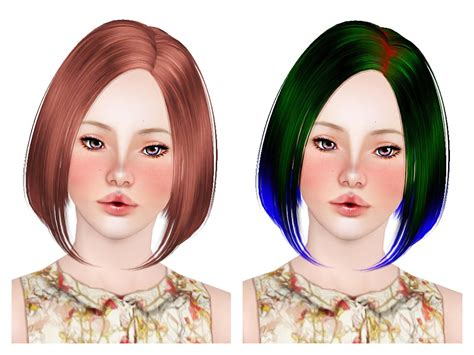 haircut styles for hair the sims 3 butterfly s 124 hairstyle retextured by neiuro 1902