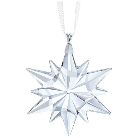 swarovski  star ornament silver superstore