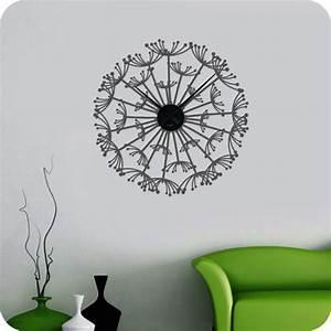 Wandtattoo Weltkarte Uhr : wandtattoo uhr pusteblume wandtattoo uhren ~ Sanjose-hotels-ca.com Haus und Dekorationen