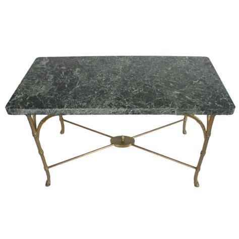 Italian green marble coffee table. 1stdibs.com   Italian Marble Top Faux Bamboo Bronze Coffee Table   Bronze coffee table, Coffee ...
