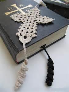 Crochet Cross Bible Bookmark Patterns