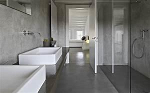 Betonvloer prijs advies inspiratie voorbeelden for Salle de bain design avec résine décorative pour sol
