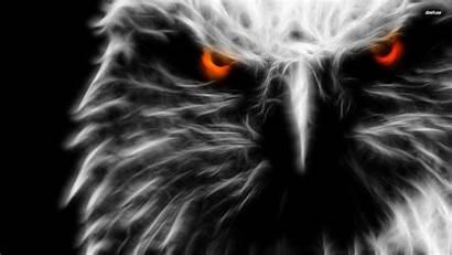 Eagle Ghost Wallpapers Desktop Digital 3d Fire