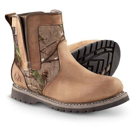 Menu0026#39;s Realtree Outfittersu00ae Texas Boots Brown / Realtreeu00ae - 236073 Casual Shoes at Sportsmanu0026#39;s ...