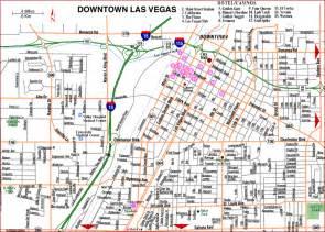 Las Vegas Downtown Map