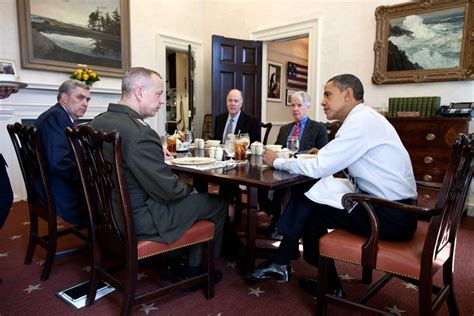 room dining president presidents wing west trump presidential obama andy thomas painting donald minutes past republican pete souza meeting