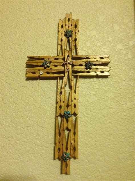 crosses crosses pinterest clothespin cross