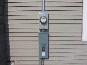 Stand Up Outdoor Heater by Meter Base On House Picture Fulton County Remc