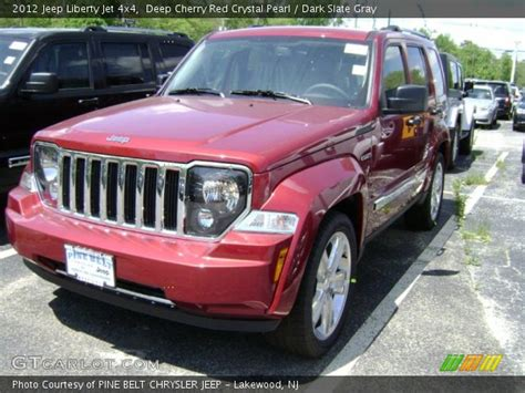 red jeep liberty 2012 deep cherry red crystal pearl 2012 jeep liberty jet 4x4