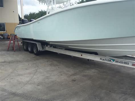 Boat Trailers For Sale Boston Ma by Sea Tech Axle 15 600 Trailer 4500 The Hull