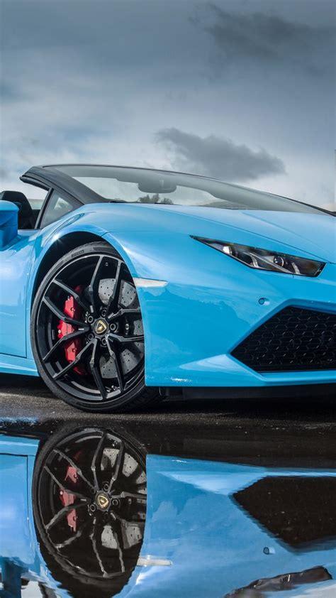 Blue Lamborghini Huracan Wallpaper Iphone by Wallpaper Lamborghini Hurac 225 N Lp 610 4 Spyder Bodykit