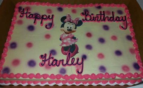 minnie mouse sheet cake cocos cakes bakery louisville