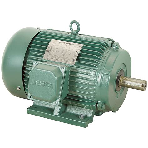 3 Phase Motor by 25 Hp 1800 Rpm 230 460 Vac 3ph 284t Leeson Motor 3 Phase
