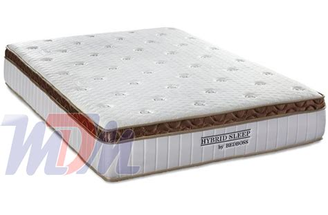 A Pocket Coil/memory Foam Mattress By The