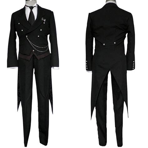black deacon  clothing sebastian male black butler