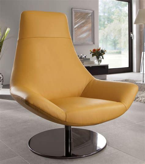 canape angle rond nouveau fauteuil design cuir pied pivotant allen allan