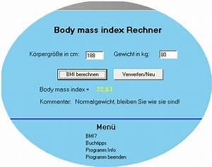 Bmi Berechnen Kostenlos : bmi rechner ~ Themetempest.com Abrechnung
