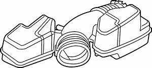 Ford Explorer Engine Air Intake Hose  Liter  Non