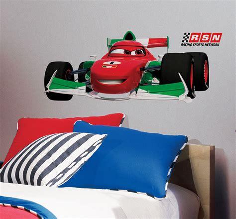 Wandtattoos Kinderzimmer Disney Cars by Roommates Wandsticker Francesco Bernoulli Disney Pixar Cars
