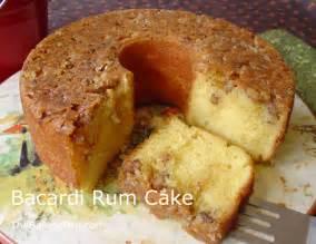 Bacardi Rum Cake Recipe