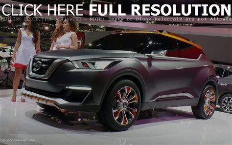 Nissan Suv 2020 by 2020 Nissan Kicks Hybrid Suv Preview Car Magz Us