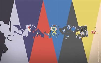 Pokemon Spectrum Rock Deviantart Psychic Fan Desktop