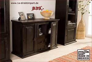 Möbel Kolonialstil Dunkel : highboard 3 t ren 2 sch be 1a direktimport ~ Markanthonyermac.com Haus und Dekorationen