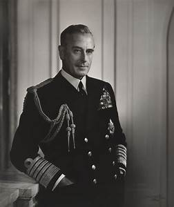 NPG P490(55); Louis Mountbatten, Earl Mountbatten of Burma ...