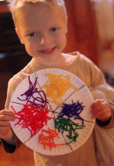 a week of activities plus yarn color wheel on 398 | IMG 2267