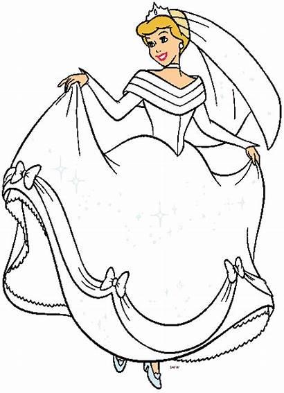 Cinderella Disney Clipart Princess Clip Cinderela Cliparts