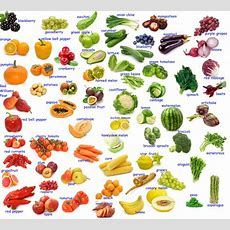 Vocabulary Fruit And Vegetables  Fluent Land