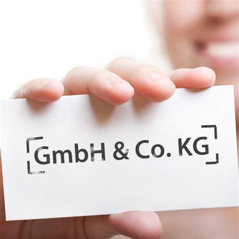 Erfal Gmbh Co Kg by Die Gr 252 Ndung Einer Gmbh Co Kg