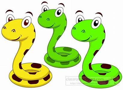 Snake Clipart Cartoon Clip Characters Cliparts Graphics