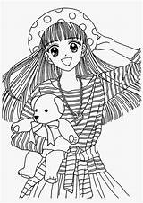 Coloring Anime Pages Colouring Printable Japanese Books Colorings Adult Filminspector Kokeshi Cabbage Patch Japan Map Cartoon Princess Dibujos Google Dolls sketch template