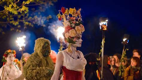 Beltane Fire Festival 2019 In Edinburgh, United Kingdom