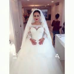 aliexpress buy 2015 sleeves gown wedding dresses arabic shoulder bridal gown - Robe De Mariage Arabe