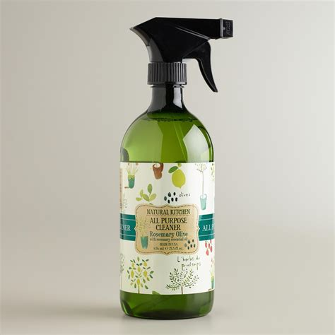 organic kitchen cleaner rosemary mint kitchen all purpose spray cleaner 1225