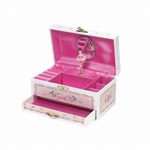 Boite A Musique Danseuse : boite musique ballerine avec tiroir j111137 la f e du jouet ~ Teatrodelosmanantiales.com Idées de Décoration