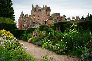 Glamis Castle From The Garden